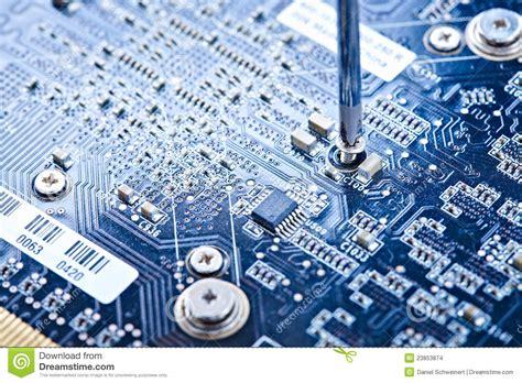Printed Circuit Board Repair Stock Images Image
