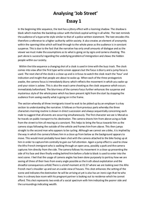 self introduction essay job Essay about my self: i also found a part time job at a local restaurant to help my parents financially plzz help me how to give sweet n nice self introduction.