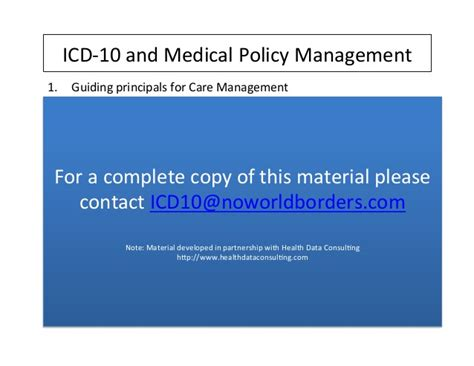 Icd 10 Medication Management
