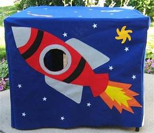 Rocket Ship Playhouse Plans - WoodWorking Projects & Plans