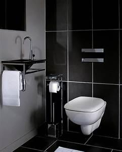 Deco Noir Et Blanc : d co wc blanc et noir ~ Melissatoandfro.com Idées de Décoration