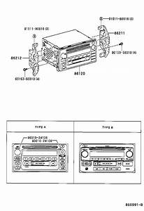 Toyota Celica Amplifier Assembly  Stereo Component  Radio