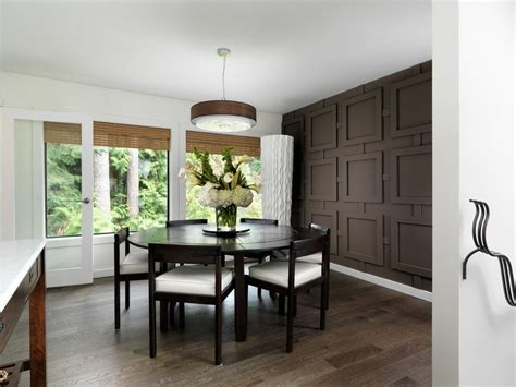 99+ [ Brown Accent Wall Dining Room ]  Chocolate Brown