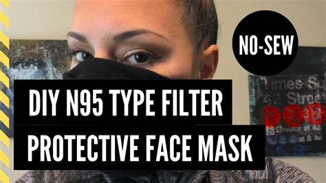 sew diy  type protective face mask