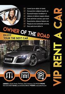 Bi Fold Brochure Templates Free Download Rent A Car Flyer By Elegantflyer