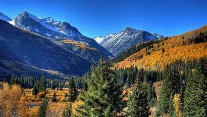 Mountain Autumn Mountains Fall Wallpapers Landscape Desktop