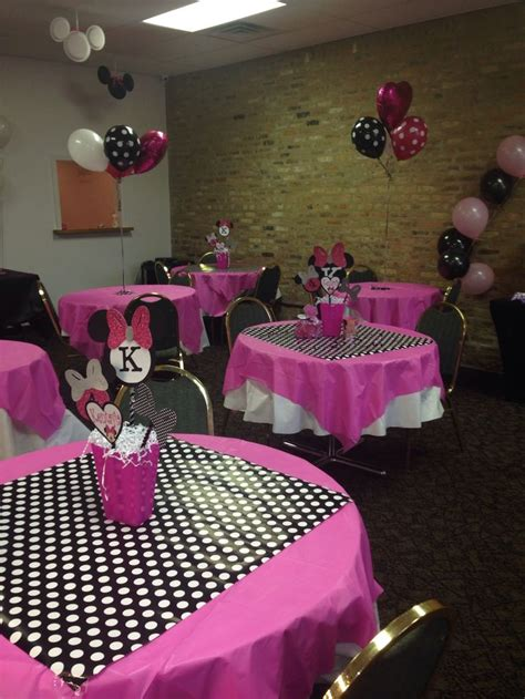birthday party ideas and tips guest post mimi 39 s minnie mouse centerpieces ideas best 25 minnie mouse