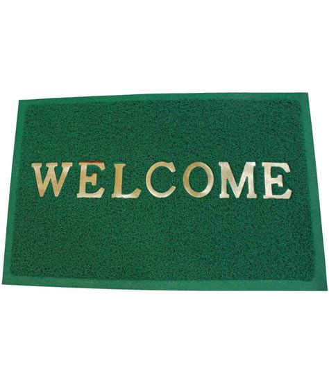 Green Welcome Mat by Fab Frens Green Welcome Door Mat Buy Fab Frens Green