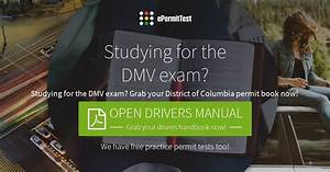 Washington Dc Drivers Manual 2018