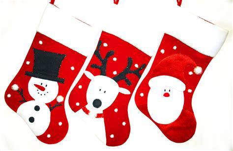 "Christmas Stockings - 24"" Santa, Snowman, and Reindeer"