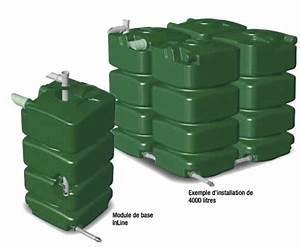 Récupérateur D Eau De Pluie Enterré : prix de cuve r cup ration d 39 eau ~ Premium-room.com Idées de Décoration