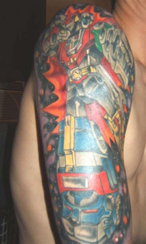 voltron tattoo