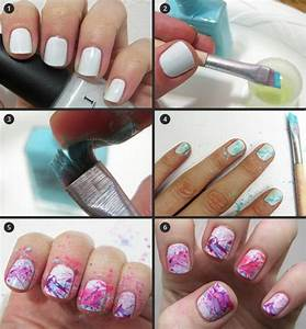 Nail art step by design