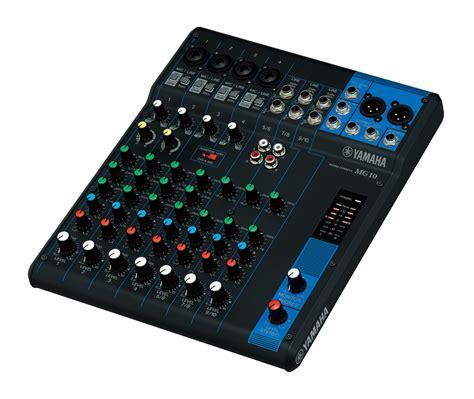 yamaha console yamaha mg10 mixing console co uk musical instruments