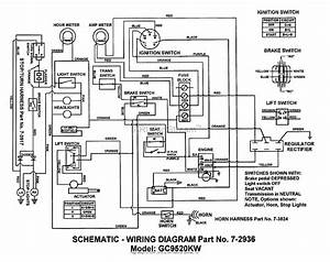 Snapper Gc9520kw  84449  9 5 Hp 2x2 Grounds Cruiser Utility Vehicle Series 0 Parts Diagram For