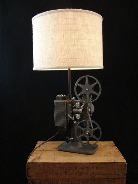 Vintage Revere 8mm Projector Lamp The Projector Has Been Restored With A Few Yards Of Old Movie