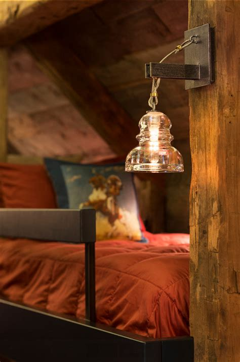Bunk House With Rustic Interiors  Home Bunch Interior