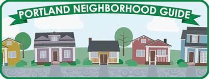 Portland Guide Neighborhood Neighborhoods Alphabetical Detailed Links