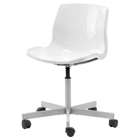 white desk chair snille swivel chair white ikea