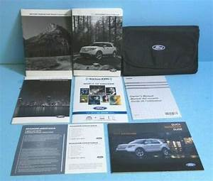 15 2015 Ford Explorer Owners Manual With Navigation  Sync