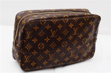 authentic louis vuitton monogram gm toilette cosmetic