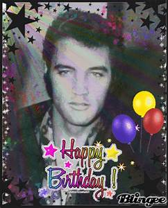 happy birthday elvis Picture #80652760 | Blingee.com