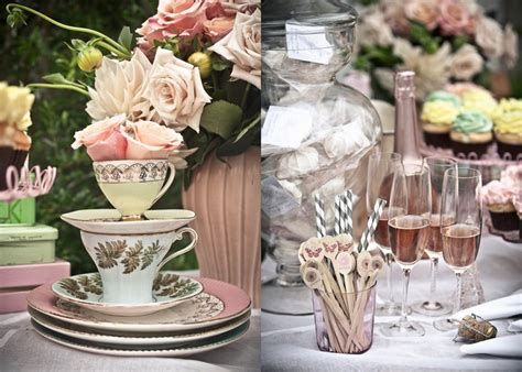 Tea Bridal Shower by Bridal Shower B Lovely Events