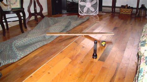 buckling hardwood floors  vented crawl spaces