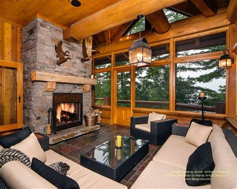 rustic home interiors 22 luxurious log cabin interiors you to see log