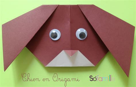 Comment Faire Un Chien En Origami