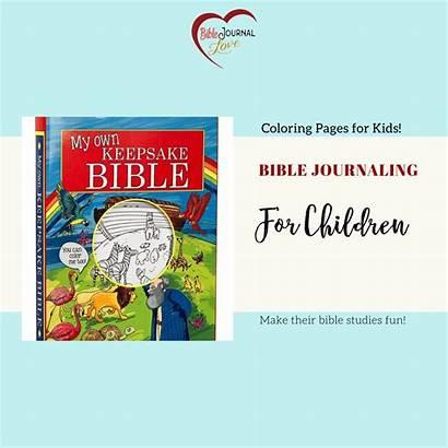Journaling Bible Children Journal Posts