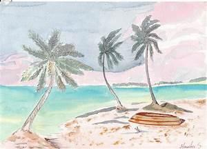 Comment Dessiner La Mer : comment dessiner une plage ~ Dallasstarsshop.com Idées de Décoration