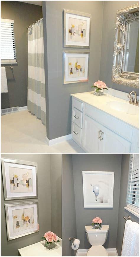 creative diy bathroom wall decor ideas