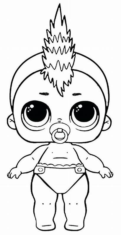 Lol Coloring Dolls Pages Printable