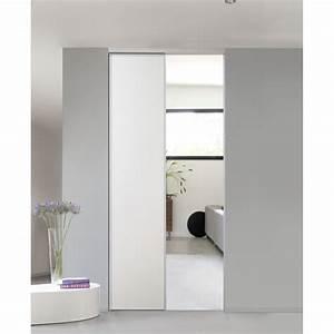 Portes De Placards Coulissantes : pack 2 portes de placard coulissantes porte de placard ~ Dailycaller-alerts.com Idées de Décoration