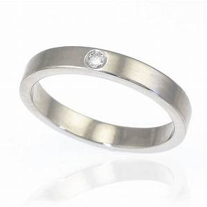 Diamond wedding ring in sterling silver by lilia nash for Silver band wedding rings