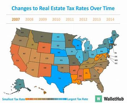 Property State Tax Taxes Texas Estate Highest