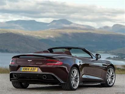 Aston Martin Vanquish Volante Divine Rear Ipad
