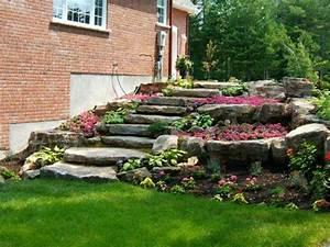 Idee Amenagement Jardin : d coration de jardin en pierre en 31 id es inspirantes ~ Melissatoandfro.com Idées de Décoration