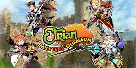 dungeon si鑒e etrian mystery dungeon nintendo 3ds nintendo