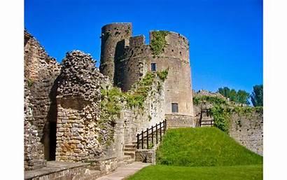 Caldicot Castle Gwent Kingdom Wales Castles Church