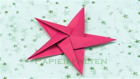 basteln zu weihnachten sterne basteln origami sterne