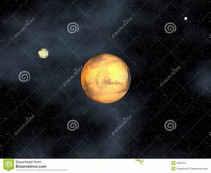 Mars Planet In Space Stock Images - Image: 4596704