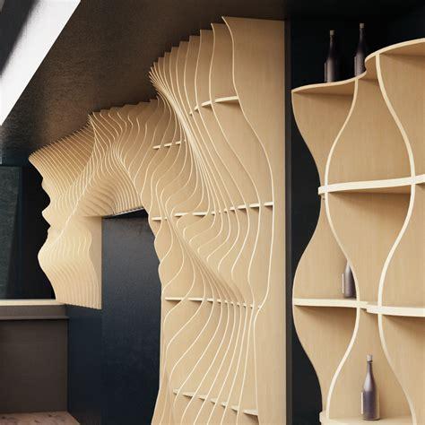 parametric wall  behance