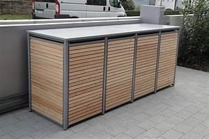 Müllbox Selber Bauen : die m lltonnenbox holz l rche mit alu wird ohne lochung ~ Lizthompson.info Haus und Dekorationen
