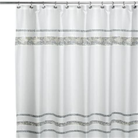 75 Shower Curtain by Croscill Spa Tile 70 Inch W X 75 Inch L Fabric Shower