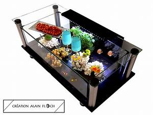U00c9pingl U00e9 Par Alain Floch Sur Table Basse Aquarium Terrarium