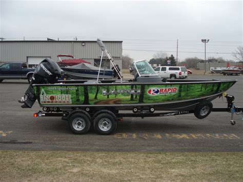 Walleye Fishing Boat Wraps by Bill Sherck S Blog Due North Outdoors