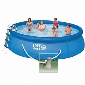 Hors Sol Piscine Intex : intex piscine ronde autoportante x m achat ~ Dailycaller-alerts.com Idées de Décoration