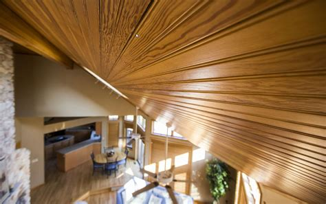 ceiling wood tongue  groove installation